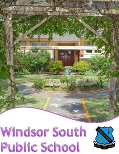 Windsor south public school entrance